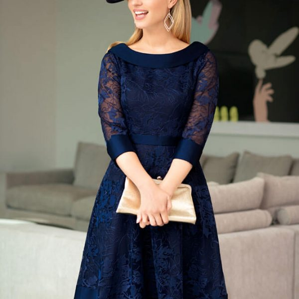 Dark Blue summer outfit with matching hat