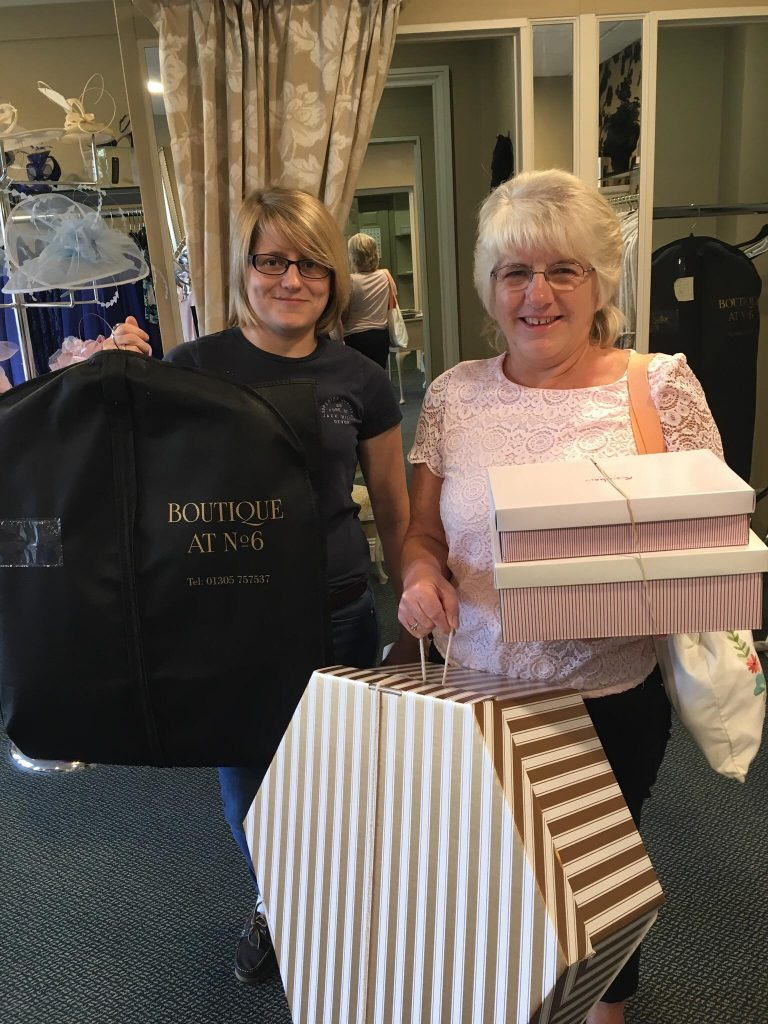 happy no 6 boutique customer