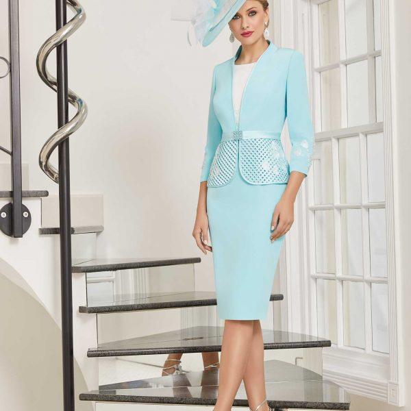 zircon-blue-&-ivory-dress-and-hat